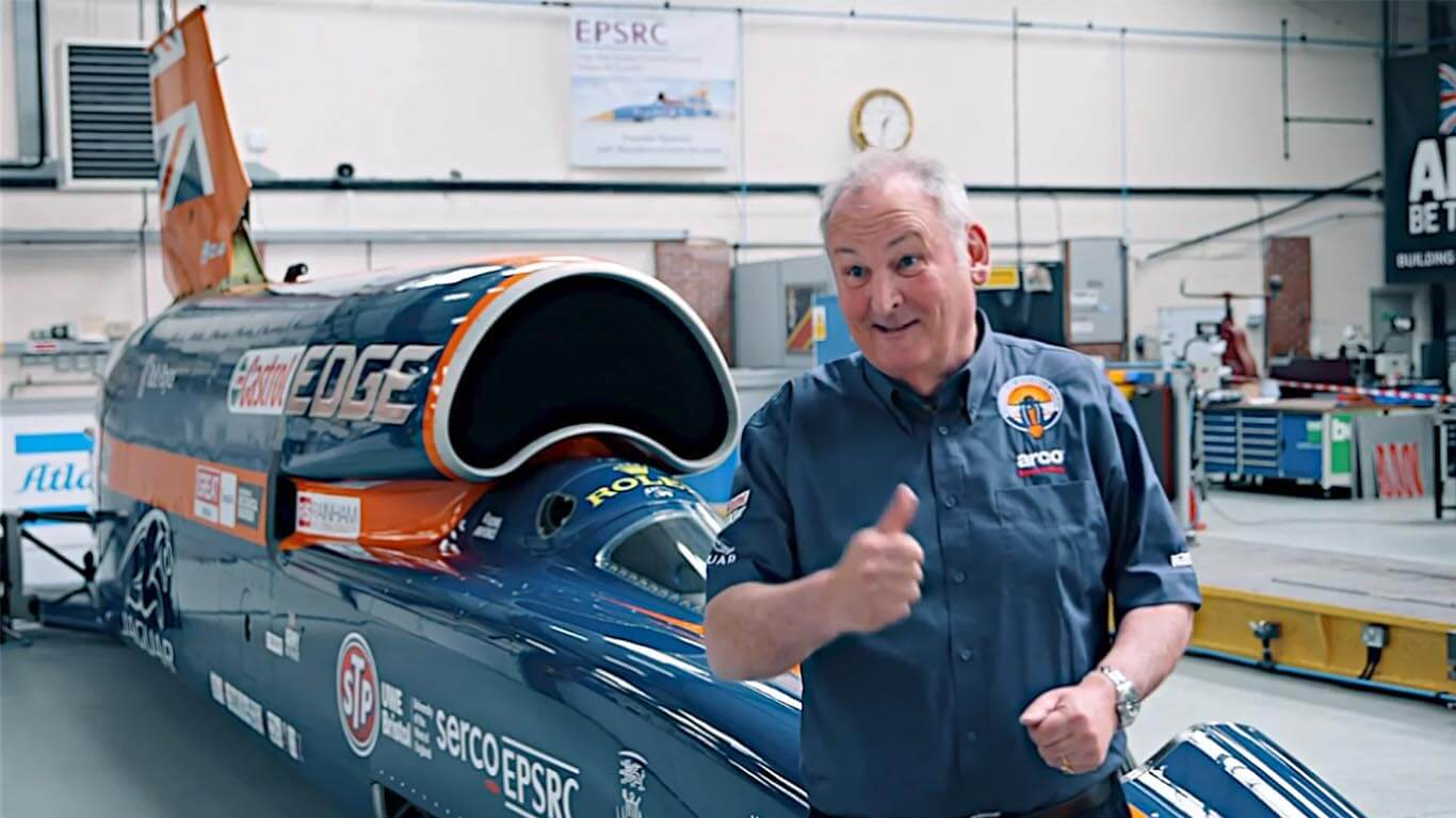 The Making of Bloodhound SSC