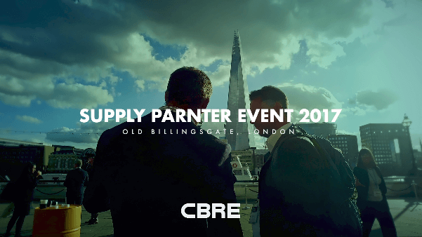 CBRE Supply Chain Event 2017